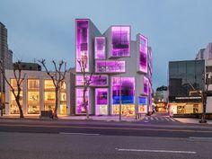 Chungha building by MVRDV (Seoul, South Korea) #architecture