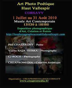 Exposition Multimédia de l'association CREAPROMEDIA Corsavy An 2010