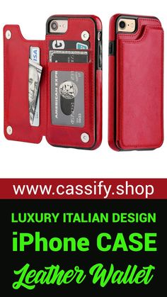 Iphone Leather Case, Leather Wallet, Smartphone, Luxury Mirror, Screen Guard, Polaroid Camera, Edc Everyday Carry, Iphone Cases, Iphone Phone