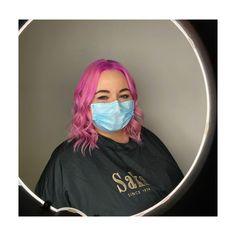 hot hot pink, pulp riot, bob, mid length, wavy hair. Lvl Lashes, Keratin Complex, Pulp Riot, Hair And Beauty Salon, Best Brand, Wavy Hair, Loreal, Bright Pink, Pink Color