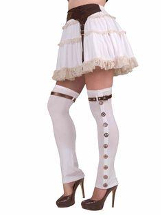 Leg Avenue Steampunk Thigh High Ladies Spats