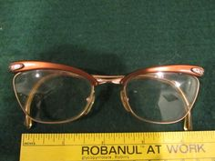3181a65b4a94 Vintage RODENSTOCK 1 10 12k gold eye Glasses  fashion  clothing  shoes