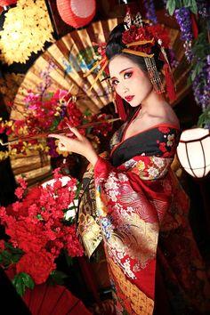 Tag Accent Cuir - Geisha Blossums Par Vida Vida bKVe4XWd
