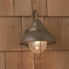Nantucket Outdoor Light - Small - 3 finishes    over the sink?  $95