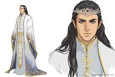 High King. http://dakkun39.tumblr.com/post/92631149578/gondolin-turgon