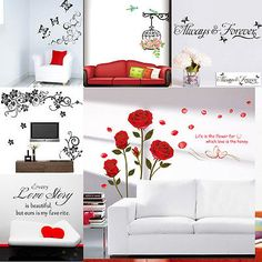 WALL-STICKERS-Removable-Decal-Modern-family-Mural-Home-Art-Vinyl-Decor-Quote