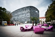 mumok gallery in Vienna, Austria / photo by Gian Marco Castelberg