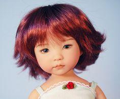Roxanne Dianna Effner doll. I kind of want my hair cut like this...