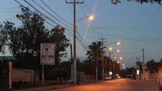 Alcaldía de Santo Domingo ilumina barrios para combatir delincuencia