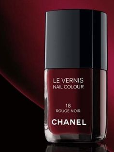 Chanel Le Vernis in Rouge Noir, aka Vamp.