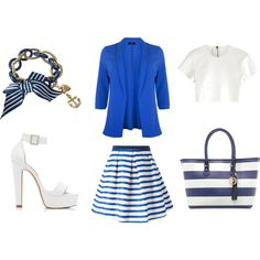 Sailor by sharnapelling on Polyvore featuring Neil Barrett, Eggs, Forever New, Anna Field and Betsey Johnson