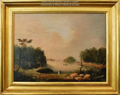 Painter Charles Codman (1800-1842) came to Portland in 1822 and painted portraits and landscapes. He produced dozens of images of Diamond Cove on Great Diamond Island. The cove became a visual icon of Portland and many other artists also painted the cove.