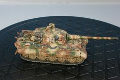 King Tiger tank for Flames of War. Painted by Panzer Schule.