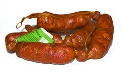 Aprox 1 kg 6 uds CHORIZO CURADO ROJO de Cerdo