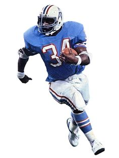 8a50d8772 Hall of Famer Earl Campbell(Houston Oilers) Football Art