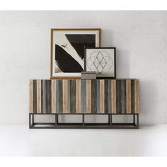 Shop for Hooker Furniture Melange Brady Credenza, and other Living Room Cabinets furniture. Hooker Furniture, Furniture Making, Furniture Design, Furniture Ideas, Living Room Cabinets, Eclectic Modern, Wood Countertops, High Fashion Home, Zulu