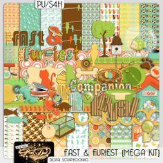 The Fast And The Furiest Digital van DesigningPixelDust op Etsy, $8.00