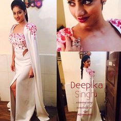Deepika Singh looks very pretty wearing stunning ring for red carpet, available at Aquamarine. Styled by Hemlata Periwal. #aquamarine_jewellery #jewellery #accessories #deepikasingh #hemlataperiwal #gorgeous #redcarpet #goldawards #celebstyle #celebfashion #bollywoodstyle #celebpost #bollywood #bollywoodfashion #celebpic #stunning #style #fashion #colaba #lokhandwala #mumbai #aquamarinejewellery