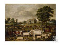 A Pennsylvania Country Fair Giclee Print by John Archibald Woodside at Art.com
