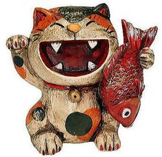 The best maneki-neko I've ever seen