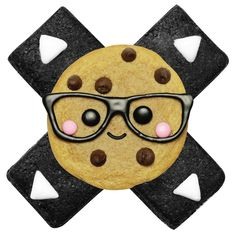Nerdy Nummies Logo - would be so cute on cookies!!