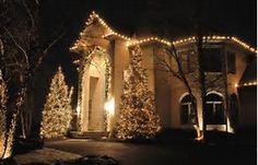 Image Result For Christmas Light Display Residential Outdoor