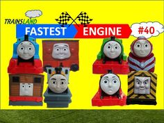 Thomas and Friends- The World's FASTEST ENGINE Competition #40