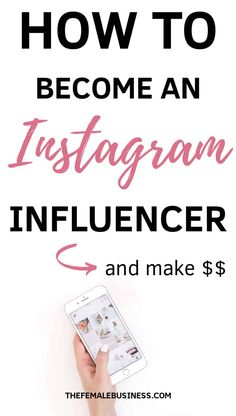 Instagram influencer tips- I'm sharing my best Instagram marketing tips and tricks to help you become an influencer and grow your account. Learn how to work with brands on Instagram and make money.  #instagram #instagraminfluencer #instagramtips Get Instagram Followers, Find Instagram, Get More Followers, Instagram Money, Instagram Posts, How To Make Money, How To Become, Instagram Marketing Tips, Influencer Marketing