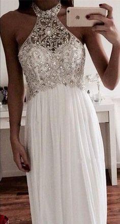 summer outfits White Cold Shoulder Shoulder Sequins Maxi Dress