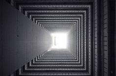Explore Hong Kongs Vertical Horizon in These Reverse Vertigo Inducing Photos