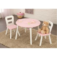 Found it at Wayfair - Kids 3 Piece Table and Chair Set