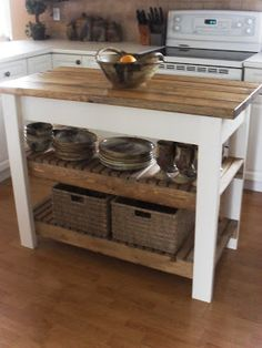 """Kitchen Island Bench On Wheels how to build a kitchen island on wheels   making a house """"home"""