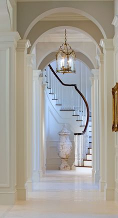 Hailed as one of the most exquisite clubs in the world, Old Palm real estate features golf estate homes, grand estate homes, and custom estates. House Design, House, Home, Foyer Decorating, House Inspiration, New Homes, Beautiful Homes, Crowded House, Home Buying