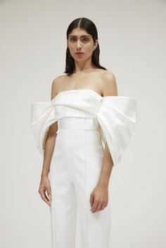 White Jumpsuit Formal, White Pantsuit, Wedding Jumpsuit, Off Shoulder Jumpsuit, Designer Jumpsuits, Strapless Jumpsuit, Girl Hijab, Wedding Suits, Wedding Dresses