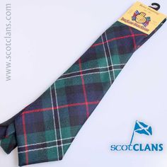 Rose Modern Tartan Tie from ScotClans