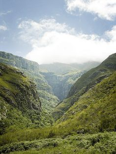 Kloofing up The Hermitage in Swellendam
