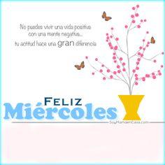 Buenos días, #feliz #miercoles  www.soymamaencasa.com