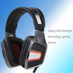 SENICC G291 Over-ear Gaming Computer Headphones #SENICC