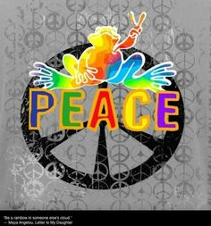 ☮ American Hippie Art Quotes ~ Peace  ☮ Peace frogs .. peace sign