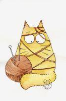 Cat-knit by Maria-van-Bruggen