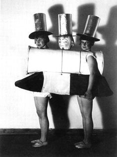 The Bauhaus: Costume for the Neue Sachlichkeit [New Objectivity] Party, 1925.