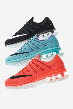 Tread on air and run like the wind. The see-through sole on the new Nike Air Max 2016 makes comfort cool.