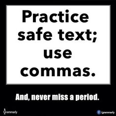 Practice safe text!