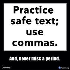 Practice safe text!