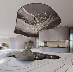 Dont we love modern spaces designed? Modern Interior, Interior Architecture, Interior And Exterior, Interior Design, Space Interiors, Office Interiors, Commercial Design, Commercial Interiors, Design Comercial