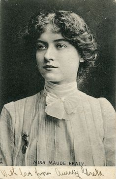 Miss Maude Fealy by robfromamersfoort, via Flickr