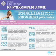 8 de marzo > Día Internacional de la #Mujer. Igualdad para las #mujeres, progreso para tod@s