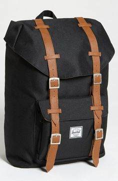Free shipping and returns on Herschel Supply Co. 'Little America - Medium' Backpack at Nordstrom.com. Mesh padding at the back and cushioned straps detail a built-for-comfort canvas backpack inspired by classic mountaineering.