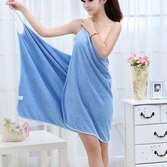 Bath Towels Fashion Lady Girls Wearable Fast Drying Magic Bath Towel Beach Spa Bathrobes Bath Skirt TB Sale