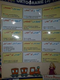 Ortograme Romanian Language, Math For Kids, School Lessons, Fractions, Parenting, Activities, Education, Cami, Horsehair